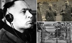 A new book has cast light on life for SS officers at Auschwitz concentration camp in Poland during WWII - including that of its commandant Rudolf Hoess (pictured)