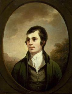 Robert Burns  by Alexander Nasmyth  oil on canvas, circa 1821-1822 (1787)