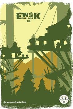 Star Wars - Ewok Village by Christopher Scrivens