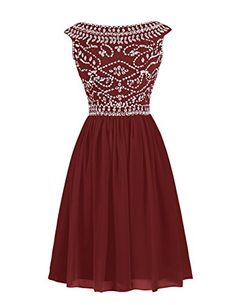 Dresstells® Women's Short One Shoulder Bridesmaid Dress Homecoming Prom Dress Burgundy Size 12 Dresstells http://www.amazon.com/dp/B014PC9YN2/ref=cm_sw_r_pi_dp_0Yk5vb1FFVEJ2