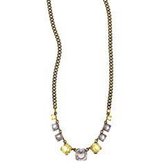 Round Crystal Collar Necklace So delicate! So cute! <3