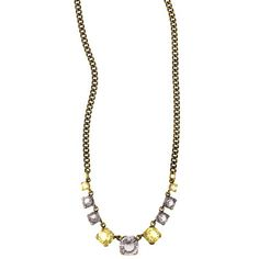 Round Crystal Collar Necklace - $42 Purchase from my online boutique: Pretty Lovely by C+I https://www.chloeandisabel.com/boutique/prettylovely