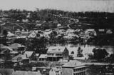 1 - Early view of Brisbane, ca. 1866 (Contributed by: QldPics) View of the township of Brisbane, Queensland, around 1866. Street in foregrou...