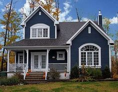 Exterior Paint Colors - You want a fresh new look for exterior of your home? All About Best Home Exterior Paint Color Ideas Exterior Paint Colors, Exterior House Colors, Exterior Design, Exterior Siding, Paint Colours, Siding Colors, House Paint Exterior, Casas California, Living Haus