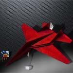 Origami F-14 Tomcat Fighter Jet by Michael Lafosse  Paper F-14 Tomcat Fighter Jet by Michael Lafosse Folder and Photo: @OrigamiKids Complexity: Intermediate. Time to fold 15 min. 30 steps. Folded from one classic Uncut square paper Red and White 22 cm x 22 cm. Diagrams in Origami Art  Continue reading   The post Origami F-14 Tomcat Fighter Jet by Michael Lafosse appeared first on Origami Blog.