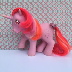 Vintage G1 MLP My Little Pony Pink GALAXY Twinkle by greatfind831