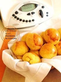 THERMOMIX: Pãezinhos de cenoura