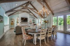Plantation style home offers beautiful coastal-inspired details in Michigan