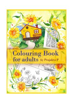 Adult colouring book,Printable colouring book,Colouring book,Coloring book for…