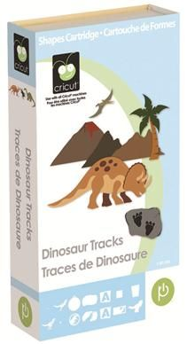 Cricut® Dinosaur Tracks Cartridge