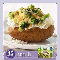 Easy Loaded Baked Potatoes   Diabetic Meals in Minutes: Breakfast, Lunch & Dinner