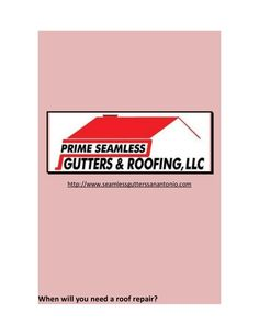 When will you need a roof repair? by calliekosters via slideshare