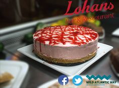 Lohans Strawberry Topping Cheesecake