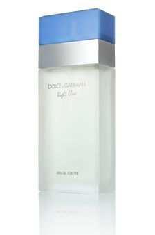 Dolce and Gabbana: Light Blue. Oh yes... I love my new perfume!
