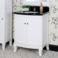 "InFurniture 27"" Single Sink WB Series Bathroom Vanity Set & Reviews 