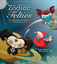 Cute little felties for every sign of the zodiac. Make one for your devious Scorpio friend and your materialistic Taurus sister.