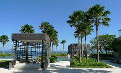 gazébo et cabane de piscine moderne en noir