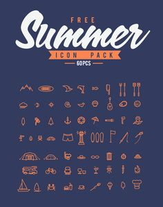 Standard Summer Icon Pack (free) - Scredeck