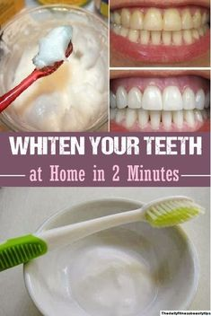 How To Whiten Your Teeth At Home Just In 2-Minutes? Get Healthy, Healthy Skin, Remove Deodorant Stains, Beauty Hacks Nails, Beauty Tips, Teeth Care, Blogger Templates, Natural Solutions, Organic Beauty