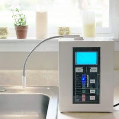 Ionized alkaline water creates natural antioxidants (reduced ORP levels) and supports better hydration along with other health benefits. Best Alkaline Water, Alkaline Water Pitcher, Alkaline Water Filter, Healthy Water, Ionised Water, Water Life, Water Filtration System, Water Heaters, Alkaline Water Ionizer