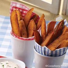 Gooseberry Patch Chili Sweet Potato Fries Recipe