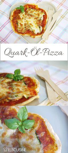 Super schnell Pizza machen? Kein Problem mit diesem Rezept für eine kleine Quark-Öl-Teig-Pizza Super, Anstatt, Finger Foods, Quiche, Sandwiches, Home Made Pizza, Recipes For Children, Vegetarian Recipes, Easy Meals