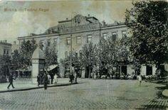 Brăila de altădata... tot Teatrul Dumitru Ionescu, fost Rally (astăzi Teatrul Maria Filotti) Postcards, Louvre, Building, Travel, Viajes, Buildings, Destinations, Traveling, Trips