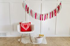 Designs by Kimberly Francom and Associates: Toddler Cupids Arrow Valentine Party | Simple Valentine Photobooth