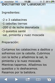 BECHAMEL DE CALABACIN OK OK;)