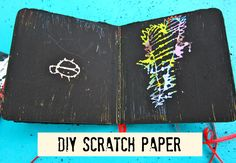 DIY Scratch Paper from Recycled Books | Morena's Corner