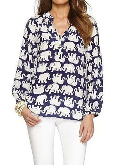Lilly Pulitzer Elsa Top in Tusk In Sun