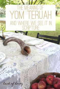 Ever wondered about Yom Teruah? It is the set apart time of YHWH that lands on the first day of Scripture's seventh month. Yom Teruah, Yom Kippur, Feasts Of The Lord, Jewish Calendar, Messianic Judaism, Jewish Crafts, Spiritual Gifts, Spiritual Growth, Trumpets