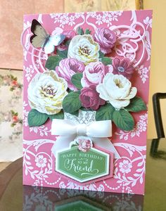 HSN July 1st Sneak Peek – 1 | Anna's Blog. Look! 3D Roses, Large Bows, Incredible Paper, Birthday Sentiment - all available July 1st on HSN!