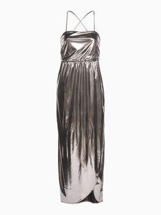 Robe longue de soirée dos nu - Robe cérémonie - CÉRÉMONIE - FEMME
