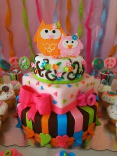 Búho Cake