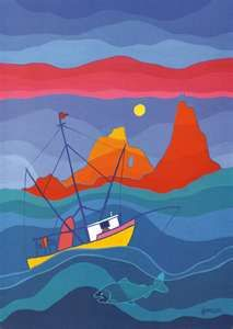 Ted Harrison great lesson on color theory and tints and shades Ted, Art Classroom, Classroom Ideas, Monochromatic Art, 7th Grade Art, Latino Art, Cultural Crafts, Underwater Art, Inuit Art