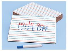 Learn to Print Write & Wipe Board - Each