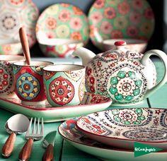Dishware - 30 Gorgeous DIY Birthday Gifts To Choose From – Dishware Diy Birthday, Birthday Gifts, Boho Home, Ceramic Painting, Ceramic Pottery, Tea Set, Boho Decor, Dinnerware, Tea Party