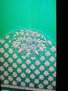 Silk Saree Blouse Designs, Choli Designs, Sleeve Designs, Zardosi Work, Zardozi Embroidery, Maggam Work Designs, Work Blouse, Hand Designs, Embroidery Designs