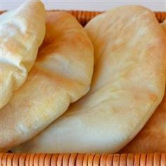 Peppy's Pita Bread – Recipes Food Cinnamon Sugar Bread, Bread Recipes, Cooking Recipes, Healthy Recipes, Pain Pita, Our Daily Bread, Pita Bread, Bread And Pastries, Bread Rolls