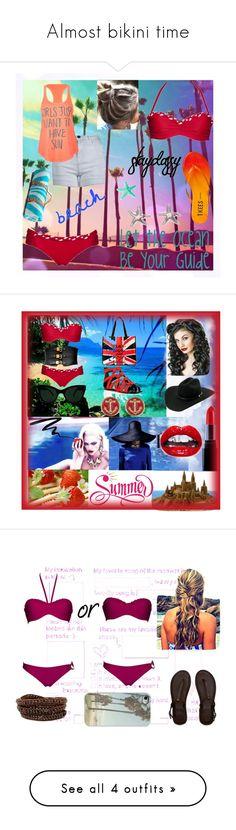 """Almost bikini time"" by ani-ani-beachwear ❤ liked on Polyvore featuring THVM, Billabong, Tkees, Maslin & Co., Elsa Peretti, Giuseppe Zanotti, Forever 21, KamaliKulture, Stetson and Smashbox"