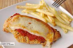 Directo al Paladar - Receta de pechugas de pollo a la parmesana