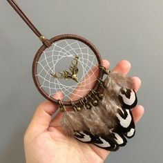 hunters luck Dream Catcher hang in your den for luck on your next hunting trip