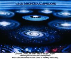 Part I: The Central and Superuniverse  Our world, Urantia, registered as a newly inhabited planet, rotates on the fringes of the seventh superuniverse. We are one of a trillion inhabitable planets whose capital flourishes near the center of the Milky Way Galaxy.