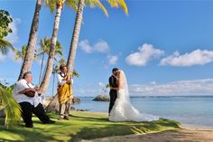 KAHALA BEACH, our most beautiful wedding location on Oahu!