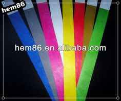 Name:cheap disposable tyvek wristbands  Size:customized  Color:CMYK or PANTONE  Design:can be designed by customer