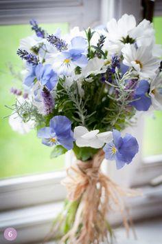 Blue/lavender Bouquet