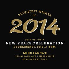 glitz new years eve invitation designed by lena barakat on celebrationscom new