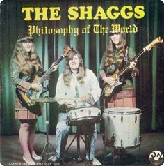 The all-Brunette Shaggs describe their Philosophy of the World in song, instead of a manifesto. Interesting way to stand out from the political crowd.