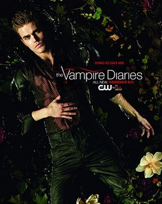 Paul wesley stars as stefan salvatore on the cw's the vampire diaries. stefan is the younger of the two vampire brothers and quickly falls for elena, Vampire Diaries Stefan, Vampire Diaries Season 2, The Vampires Diaries, Paul Wesley Vampire Diaries, Vampire Diaries Poster, Vampire Diaries Wallpaper, Vampire Diaries Cast, Vampire Diaries The Originals, Damon Salvatore